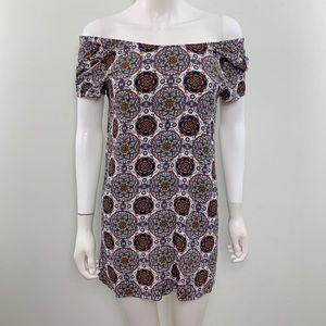 Lulus Women's Size s Off shoulder tunic blouse